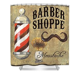 Barber Shoppe 1 Shower Curtain by Debbie DeWitt
