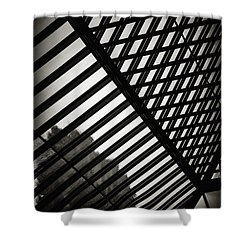 Barbican Grids Shower Curtain