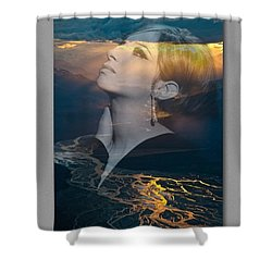 Barbra's Vision Shower Curtain