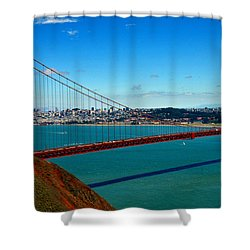 Barche Shower Curtain