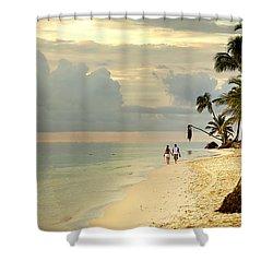 Barefoot On The Beach Shower Curtain