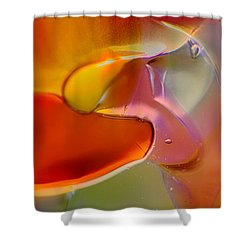Barely A Bird Shower Curtain by Omaste Witkowski