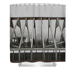Barge Tent Shower Curtain