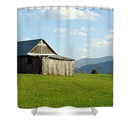 Barn #1 Shower Curtain