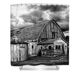 Barn 66 Shower Curtain