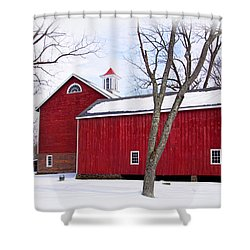 Barn At Tinicum Park Shower Curtain