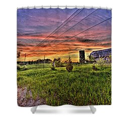 Barn Finds Shower Curtain