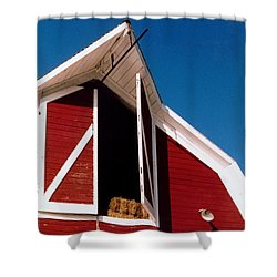 Barn Shower Curtain