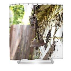 Barn Lantern  Shower Curtain