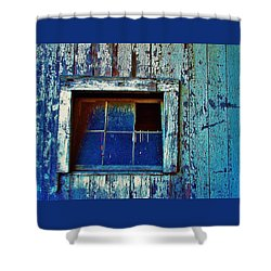 Barn Window 1 Shower Curtain