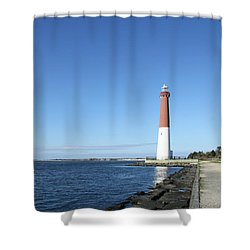 Barnegat Light - New Jersey Shower Curtain by Christiane Schulze Art And Photography