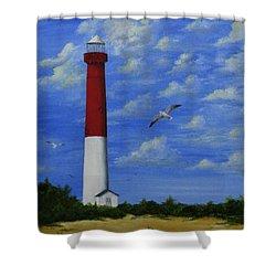 Barnegat Lighthouse Shower Curtain