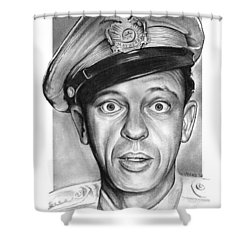 Barney Fife Shower Curtain