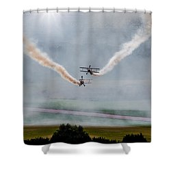 Barnstormer Late Afternoon Smoking Session Shower Curtain