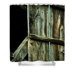 Barnwood Shower Curtains