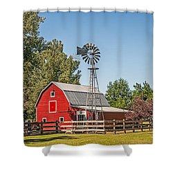 Barnyard Shower Curtain
