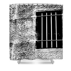 Barred Shower Curtain by Kaleidoscopik Photography