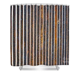 Shower Curtain featuring the photograph Barred by Kristen Fox