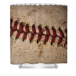 Baseball - America's Pastime Shower Curtain by David Patterson