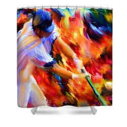Baseball IIi Shower Curtain