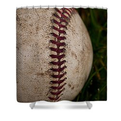 Baseball - The National Pastime Shower Curtain by David Patterson