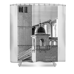 Basilica Details Shower Curtain