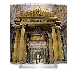 Basilica Of St John Lateran  Shower Curtain