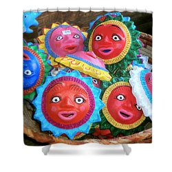 Basket Full Of Sunshine Shower Curtain