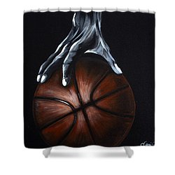 Basketball Legend Shower Curtain