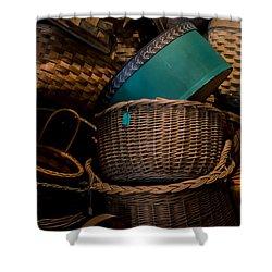 Baskets Galore Shower Curtain