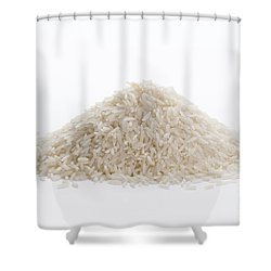 Shower Curtain featuring the photograph Basmati Rice by Lee Avison