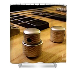 Shower Curtain featuring the photograph Bass by Andrea Anderegg