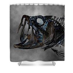 Bass Art Shower Curtain by Tbone Oliver