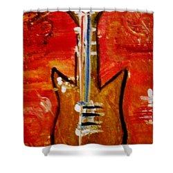 Bass Guitar 1 Shower Curtain