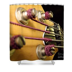 Shower Curtain featuring the photograph Bass II by Andrea Anderegg