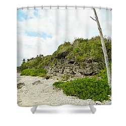 Shower Curtain featuring the photograph Bat Cave by Amar Sheow