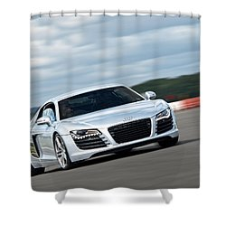 Bat Out Of Hell - Audi R8 Shower Curtain