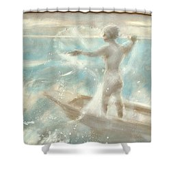 Bateau Shower Curtain