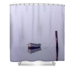 Bateau Shower Curtain by Skip Willits