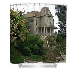 House Of Norman Bates Shower Curtain