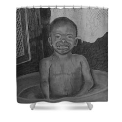 Bath-time Tears Shower Curtain