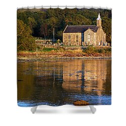 Shower Curtain featuring the photograph Bathed In Gods Light by Wendy Wilton