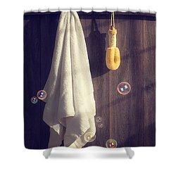 Bathroom Towel Shower Curtain by Amanda Elwell