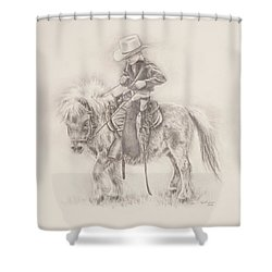 Battle Of Wills Shower Curtain