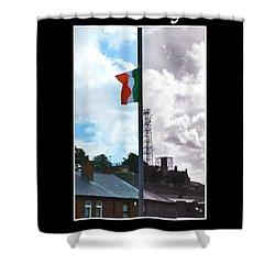 Shower Curtain featuring the photograph Battleline by Nina Ficur Feenan