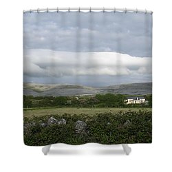 Baughlyvann Clouds Shower Curtain