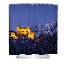 Bavarian Castle Shower Curtain by Brian Jannsen