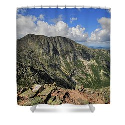 Baxter Peak Shower Curtain by Lori Deiter