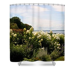 Bay View Bristol Rhode Island Shower Curtain by Tom Prendergast