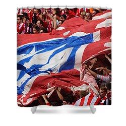 Bayern Munich Fans Shower Curtain